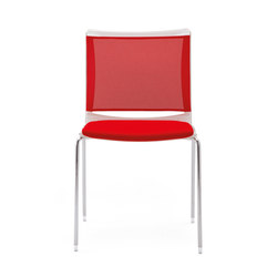 S'MESH SOFT 4 LEGS | Visitors chairs / Side chairs | Diemmebi S.p.A