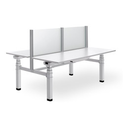SUZO | Systèmes de tables de bureau | Diemmebi S.p.A