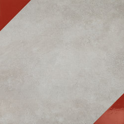 Matrice Trama 3 F5 Rosso | Baldosas de suelo | Cedit by Florim