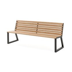 VENTIQUATTRORE.H24 SEAT WITH BACKREST | Benches | Diemmebi