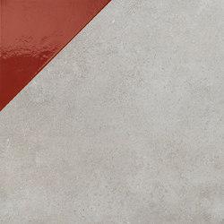 Matrice Trama 3 G4 Rosso | Baldosas de cerámica | FLORIM