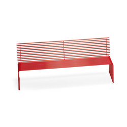 ZEROQUINDICI.015 SEAT WITH BACKREST | Garden benches | Diemmebi S.p.A