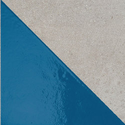 Matrice Trama 3 H4 Azzurro | Tiles | Cedit by Florim