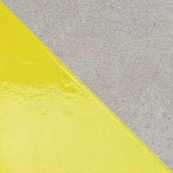 Matrice Trama 3 H4 Giallo | Ceramic tiles | FLORIM