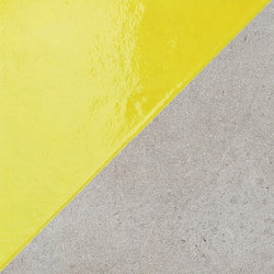 Matrice Trama 3 H5 Giallo | Tiles | Cedit by Florim