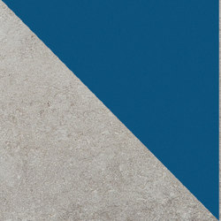 Matrice Trama 3 H6 Azzurro | Tiles | Cedit by Florim