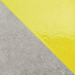 Matrice Trama 3 H6 Giallo | Ceramic tiles | FLORIM