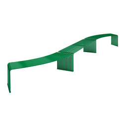 ZEROQUINDICI.015 FLAT BENCH CONCAVE OR CONVEX | Benches | Diemmebi S.p.A