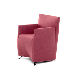 Caprichair armchair | Visitors chairs / Side chairs | Baleri Italia by Hub Design