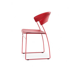 Juliette stackable chair | Sillas multiusos | Baleri Italia by Hub Design