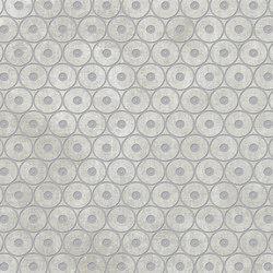 Tesori Anelli Grigio Decoro Argento | Ceramic tiles | Cedit by Florim