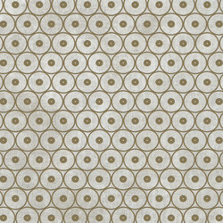 Tesori Anelli Grigio Decoro Bronzo | Ceramic tiles | Cedit by Florim