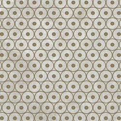 Tesori Anelli Grigio Decoro Bronzo | Keramik Fliesen | FLORIM