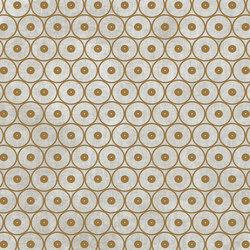 Tesori Anelli Grigio Decoro Oro | Keramik Fliesen | FLORIM