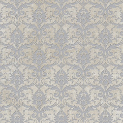 Tesori Broccato Bianco Decoro Argento | Carrelage | Cedit by Florim