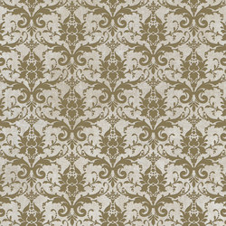 Tesori Broccato Bianco Decoro Bronzo | Ceramic tiles | Cedit by Florim