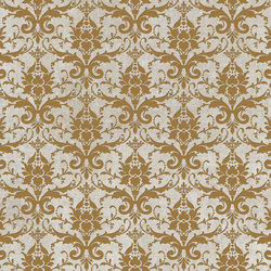 Tesori Broccato Bianco Decoro Oro | Ceramic tiles | Cedit by Florim