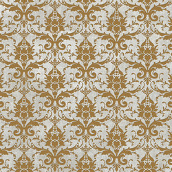 Tesori Broccato Grigio Decoro Oro | Ceramic tiles | Cedit by Florim