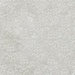Tesori Broccato Grigio Decoro Semplice | Ceramic tiles | Cedit by Florim