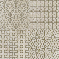 Tesori Monile Bianco Decoro Bronzo | Ceramic tiles | FLORIM