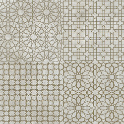 Tesori Monile Grigio Decoro Bronzo | Ceramic tiles | Cedit by Florim