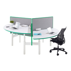 Krossi Workstation | Separadores de mesa | Schiavello International Pty Ltd