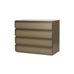 Collar cabinet with drawers | Caissons | Quodes