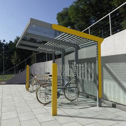 aureo velo | Bicycle shelter | Ripari per biciclette | mmcité