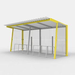 bicyg | Bicycle shelter | Bicycle shelters | mmcité