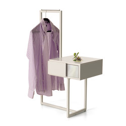 Teca bedside table dressboy | Stender guardaroba | Quodes