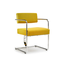 Cantilever Chair Steel | Sedie visitatori | VS