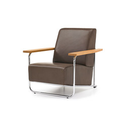 Lovell Easy Chair Steel | Fauteuils d'attente | VS