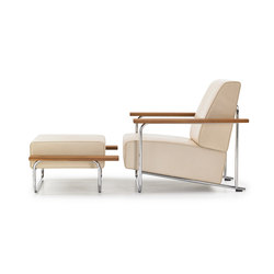 Lovell Easy Chair Steel | Fauteuils | VS