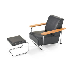 Lovell Easy Chair Steel | Armchairs | VS