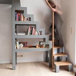 Libro | Staircase | Scale di legno vetro | Jo-a