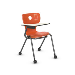 Compass-LuPo with writing surface | Multipurpose chairs | VS