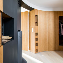 Curve Wood | Wardrobe | Armadi guardaroba | Jo-a