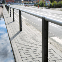 cydlimit | Railing stainless steel wires | Railings / Balustrades | mmcité