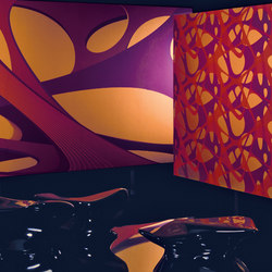Source One Zaha Hadid | Pritzker Mural | Wall coverings / wallpapers | Distributed by TRI-KES