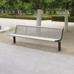 diva solo | Park bench with backrest | Exterior benches | mmcité
