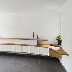 Curve Wood and Steel | Sideboard | Sideboards / Kommoden | Jo-a