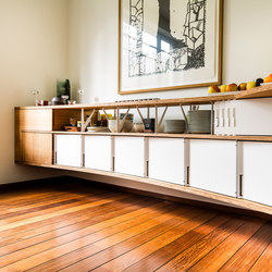 Curve Wood and Steel | Sideboard | Aparadores | Jo-a