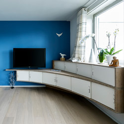 Curve Wood and Steel | Sideboard | Sideboards | Jo-a