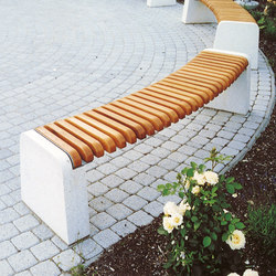 forma | Curved park bench | Exterior benches | mmcité