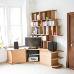 Curve Wood | TV stand | Credenze | Jo-a