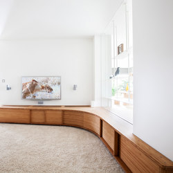 Curve Wood | TV stand | Sideboards / Kommoden | Jo-a