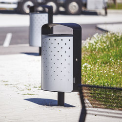 lena | Litter bin with cover | Waste baskets | mmcité
