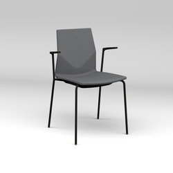 Four Cast® Four upholstery | Sedie visitatori | Four Design