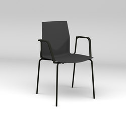Four®Cast2 Four armchair | Visitors chairs / Side chairs | Four Design