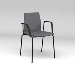 Four®Cast2 Four upholstery | Visitors chairs / Side chairs | Four Design